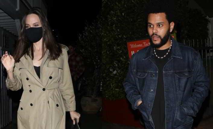 Angelina Jolie e The Weeknd di nuovo insieme