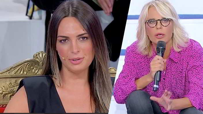 Maria De Filippi e il bel discorso fatto alla nuova tronista trans Andrea Nicole