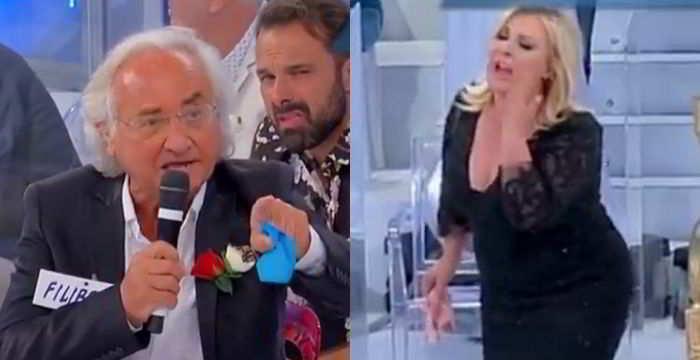 Tina Cipollari litiga con un suo ex corteggiatore a Uomini e Donne