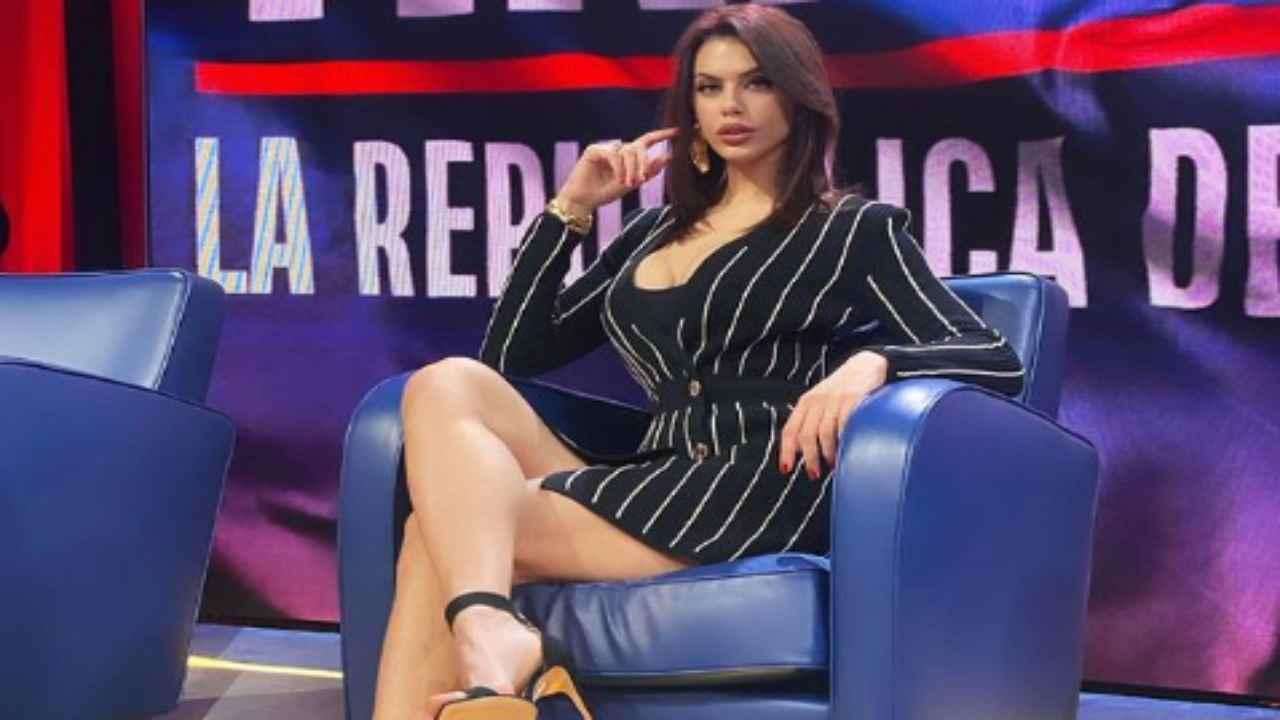 Antonella Fiordelisi litiga nel dietro le quinte di Scherzi a parte