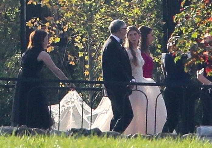 Bill Gates, le nozze da due milioni di dollari della figlia Jennifer