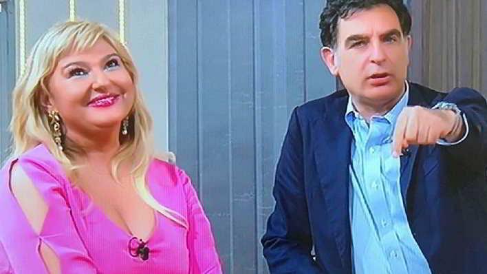 È ancora gelo tra Monica Setta e Tiberio Timperi